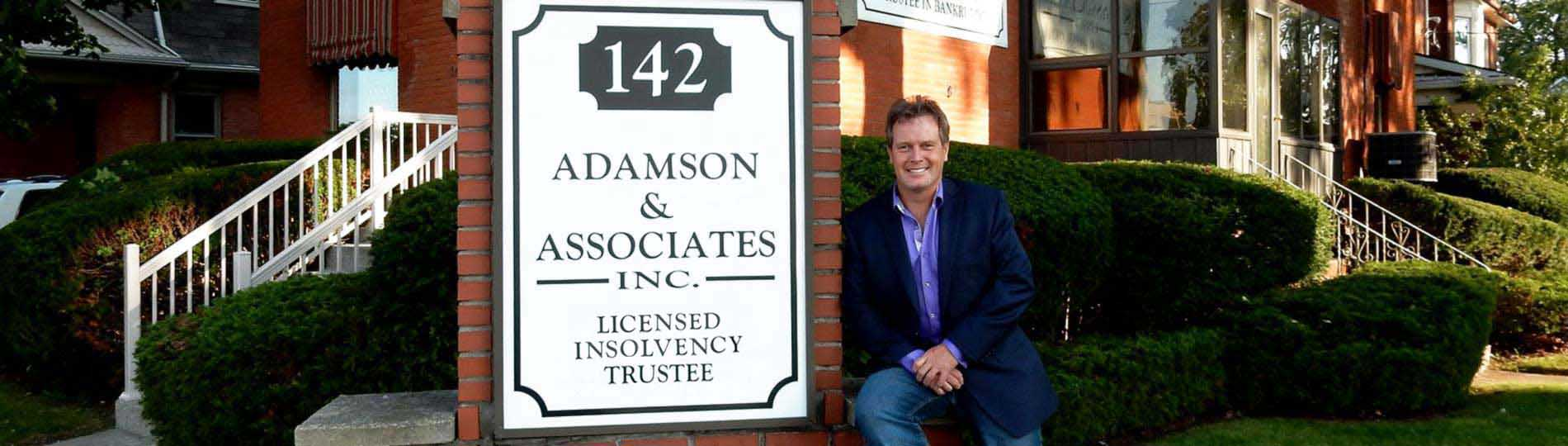 Adamson & Assoicates Inc. Trustee in Bankruptcy