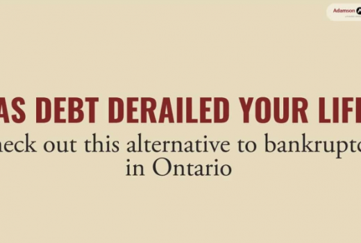 Alternative To Bankruptcy In Ontario