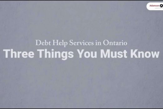 Debt Help Services In Ontario: Three Things You Must Know Before You Do Anything