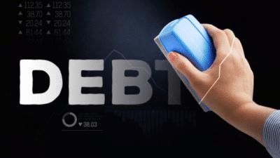 Consumer Proposal Debt being erased