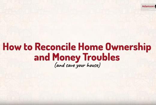 Home Ownership And Money Trouble