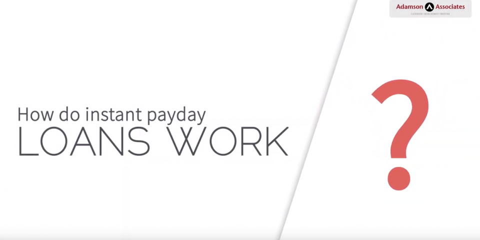 How Do Instant Payday Loans Work?